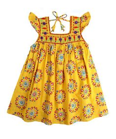 Love this Yellow Princess Dress & Bloomers - Toddler & Girls by Child of the World on #zulily! #zulilyfinds