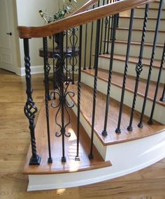 Best Stair Beauteous Home Interior Decoration Using Wooden 400 x 300