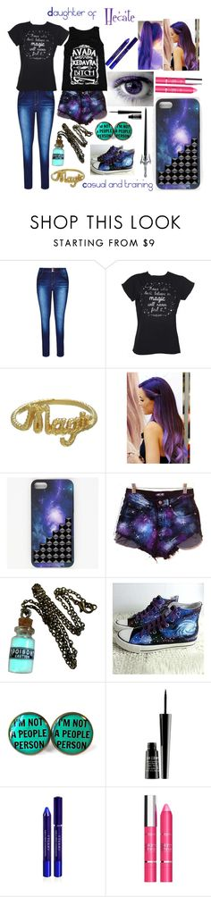 """Daughter of Hecate"" by half-blood-outfits ❤ liked on Polyvore featuring City Chic, Zoe & Morgan, HVBAO, Elizabeth Taylor, S.W.O.R.D., Lord & Berry, By Terry, L'Oréal Paris and plus size clothing"