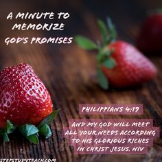 God's Promise of Provision