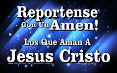 Donde estan los que AMAN a CRISTO JESÚS? Y donde estan los que agradecen a DIOS por su despertar? REPORTENSE con un AMÉN! Buen dia te desea Lucy Gonzalez!