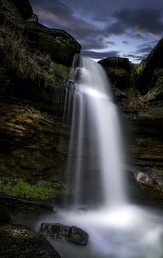 Artistic-realistic nature - 💙 Centerville Waterfall on 500px by Desmond Lake...