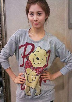 Seohyun♥ South Korean Girls, Korean Girl Groups, Kpop Outfits, Casual Outfits, Hatice Sendil, Seolhyun, Bae Suzy, Korean Men, Snsd