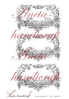 Aneta Gajos Aneta-handicraft: Decoupage print room Aneta-handicraft papers