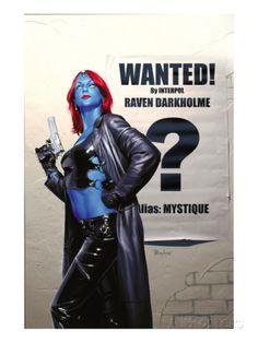 Mystique No.24 Cover: Mystique Prints at AllPosters.com
