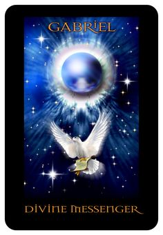 """One of the Angelic Champions of the ORACLE - the Angels of Atlantis! OM..... """"Oracle Angels of Atlantis"""" from  Stewart Pearce"""