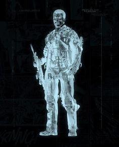 Uncle Bob The Terminator by J J Adams #terminator #movies #films #arnie #arnold #Szwarzenegger #T1 #T2 #T3 #RiseoftheMachines #genesis #contemporary #art #JJAdams #York #Yorkshire #Pocklington