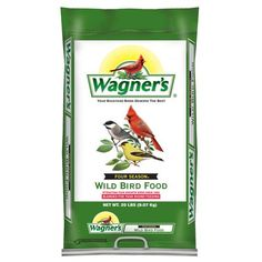Buy Wagner's 13013 Four Season Wild Bird Food, Bag securely online today at a great price. Wagner's 13013 Four Season Wild Bird Food, Bag available today at ba. Wild Bird Food, Wild Birds, Black Oil Sunflower Seeds, Food Net, Homemade Bird Feeders, Bird Migration, Feed Bags, Pet Supplements, How To Attract Birds