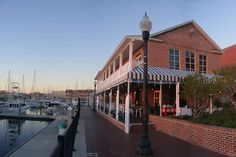 Jaco's in downtown Pensacola has the best views. Just take a walk around and enjoy the beautiful views of the water.