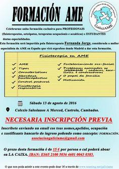 CORES DE CAMBADOS: FORMACIÓN EN FISIOTERAPIA #AME
