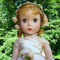 1951 Madame Alexander Rosamund Bridesmaid Doll 14 Inch Maggie Face by AmericanBeautyDolls on Etsy