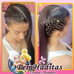 Baddie Hairstyles, Funky Hairstyles, Little Girl Hairstyles, Ponytail Hairstyles, Down Hairstyles, Curly Hair Braids, Curly Hair Styles, Natural Hair Styles, Kid Braid Styles