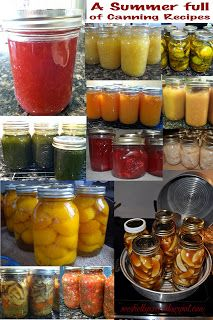 seeshellspace: A Summer Full of Canning.  Just in time to preserve Summer's Bounty!