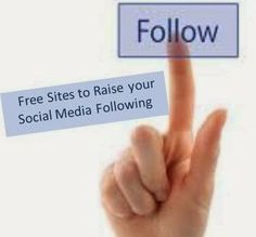 Online Marketing, SEO and SMO Updates: Free Sites to Raise your Social Media Following