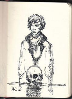 2269 http://rain7kid.tumblr.com/post/59787142237/random-sherlock-sketch
