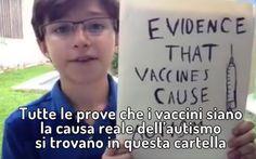 VIDEO: un piccolo scienziato ci spiega perché i vaccini causano autismo Un simpatico bambino messicano che ama definirsi un piccolo scienziato ha postato questo video ironi video bambino autismo vaccini