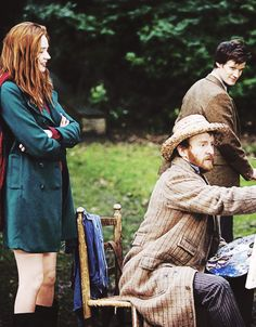 Amelia, Eleven, and Vincent Van Gogh. <3 this episode soooo much! it just stays with you!