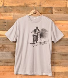 Iron & Resin's latest range of tees features some real cool moto images. Buy online for $36.00.