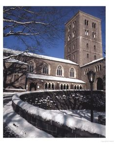 The Cloisters: Medieval Art and Architecture - Google Books. Outside view, Winter in the snow.