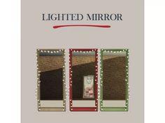 Lighted Mirror ♥ - Los Sims 4 Descarga - SimsDom