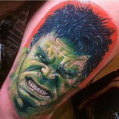 #thehulk by @romantattoos #inkedmag #freshlyinked #inkedshop #tattoos #tattoo…