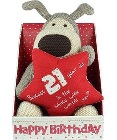Large Bestest 21 Year Old Boofle Dog Birthday Gifts21st