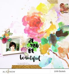Be you Be beautiful by LilithEeckels at @studio_calico