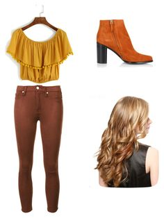 """Raichu outfit"" by pokemonpikachuuuuuuu on Polyvore featuring Chloé and 7 For All Mankind"