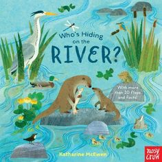 National Trust: Who's Hiding on the River? Book Club Books, My Books, Nonfiction Books For Kids, Animal Facts, Science Books, National Trust, Woodland Creatures, Stories For Kids, Conte