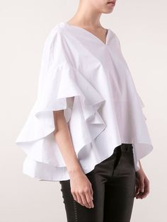 Delpozo Ruffle Sleeve Blouse - - Farfetch.com