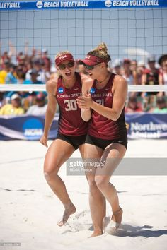 The Division I Women's Beach Volleyball Championship takes place at the Beach at Gulf Shores in Gulf Shores, AL. Jamie Schwaberow/NCAA Photos via Getty Images Beach Volleyball, Volleyball Tryouts, Women Athletes, Woman Beach, Athletic Women, Sports Women, Division, Meet, Fitness