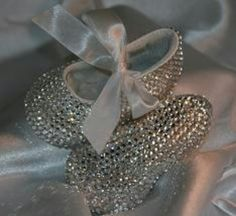 Bedazzled baby shoes!!