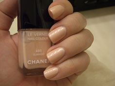Chanel nail polish. I'm pretty sure this is the perfect nude.