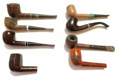 Vintage Estate Smoking Pipes Bruyere yello bole kaywoodsie more lot of 8