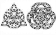 Pin Simbolos Celtas Plantillas De Tatuajes Tattoo On Pinterest