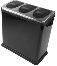 triple recycling bins - don\'t forget to add your Trio 60 Litre ...