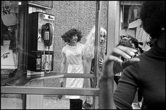 Bruce Gilden, 1988, New York City. Magnum Photos Photographer Portfolio