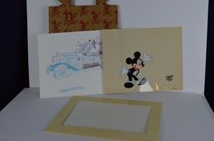 Art of Disney Animation Gallery Mickey Mouse Animation Cel Model Guide Sheet #disney #animation