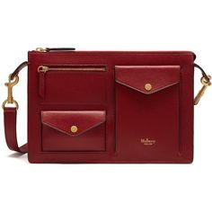 Mulberry Cherwell Satchel (11.932.405 IDR) ❤ liked on Polyvore featuring bags, handbags, maroon, red satchel, square handbags, square purse, red satchel handbag and maroon handbags
