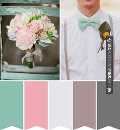 A little change from the usual pairing of red and green, this colour comboof black and white with added hints of ruby red create a festive wedding palette with a difference. Description from onefabday.com. I searched for this on bing.com/images