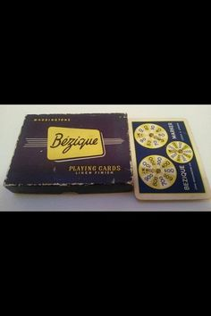 Waddingtons vintage bezique card game box by InfinityCroydon, Games Box, Card Games, Youth, Creative, Cards, Handmade, Etsy, Vintage, Young Man