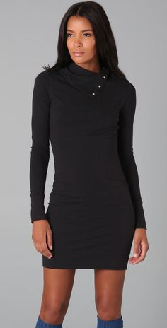 $158 NWT Beautiful DIANE VON FURSTENBERG Little Black Dress sz S #DianevonFurstenberg #LBD #LittleBlackDress