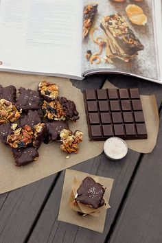 Salted Dark Chocolate Nut Bites: The Paleo Chocolate Lover's Cookbook Review & Giveaway - Tasty Yummies