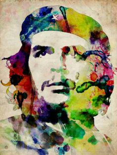 Che Guevara background wallpaper