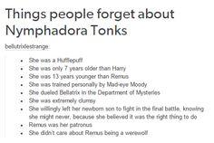 Harry Potter - Nymphadora Tonks