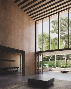 Architect House, Architect Design, Paros, Architecture Details, Interior Architecture, Casa Park, Townhouse Interior, Long House, Parking Design