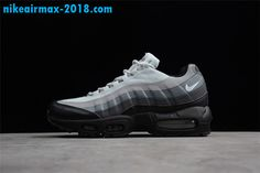 competitive price a7d50 8653e New Mens Nike Air Max 95 Essential Gray Black 749766-022 Air Max 95,