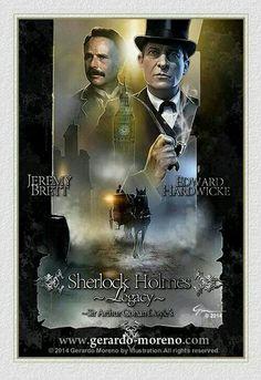Jeremy Brett Sherlock Holmes, Detective Sherlock Holmes, Sherlock Pipe, Arthur Conan Doyle, Sir Arthur, Holmes Movie, Famous Detectives, Granada, Elementary My Dear Watson