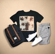 38 New Ideas For Moda Masculina Casual Verano Hype Clothing, Mens Clothing Styles, Apparel Clothing, Men's Apparel, Mode Man, Mein Style, Herren Outfit, Outfit Grid, Today's Outfit