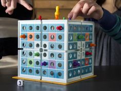 Strategy Board Game in 3D | Squashed